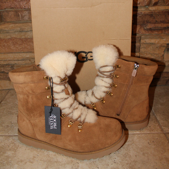 UGG Other - UGG VIKI SUEDE WATERPROOF GIRL'S WINTER BOOTS NEW!